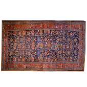 Antique Bijar Carpet, Persia, 11.6 x 19.5