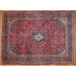 Kashan Carpet, Persia, 9.6 x 13
