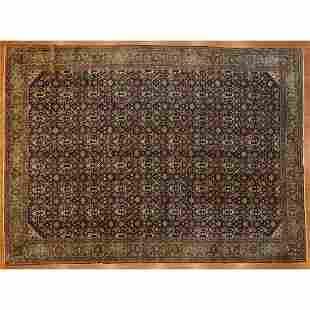 Antique Tabriz Carpet, Persia, 10 x 13.8