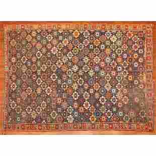 Antique Karabaugh Rug, Persia, 5.7 x 6.9
