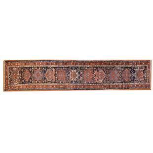 Semi-Antique Karaja Runner, Persia, 3.1 x 15.4