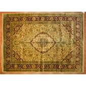 Indo Agra Carpet, India, 10 x 13.1
