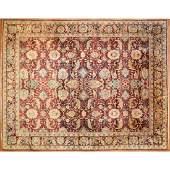 Indo Agra Carpet, India, 11.8 x 14.9