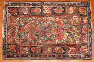 Semi-Antique Bahktiari Rug, Persia, 4.8 x 6.9