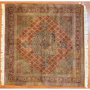 Fine Tabriz Mahi Rug, Persia, 6.4 x 6.7