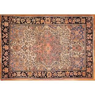 Antique Feraghan Sarouk Rug, Persia, 3.3 x 4.10