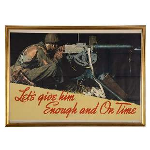"""Norman Rockwell. """"Let's Give Him Enough..."""""""