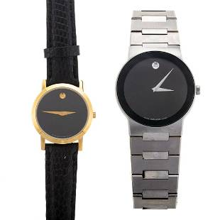 Two Movado Wrist Watches, NWT