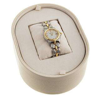 A Two Toned MOP Dial Bertolucci Watch, NWT