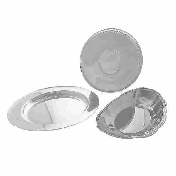 Three American Sterling Dishes