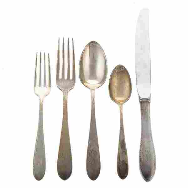 S Kirk & Son Co. Sterling Partial Flatware Service