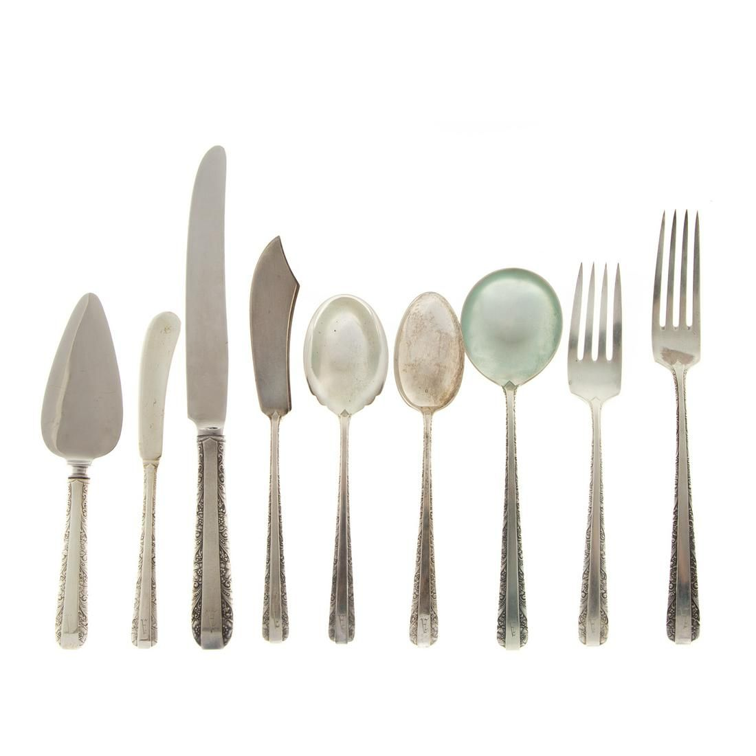 """Towle Sterling """"Candlelight"""" Flatware Service"""