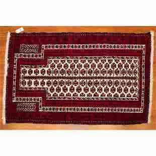 Baluchi Prayer Rug, Persia, 3.4 x 4.11