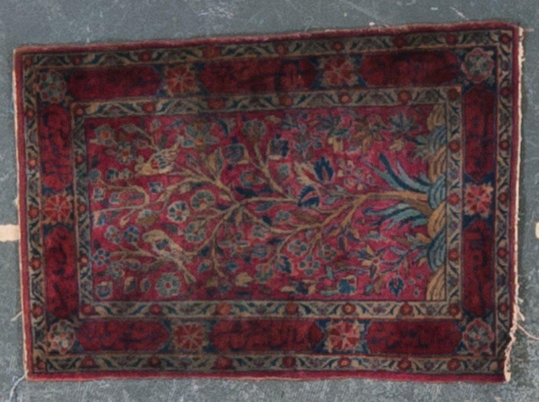 Antique Keshan prayer rug, approx. 2 x 2.11