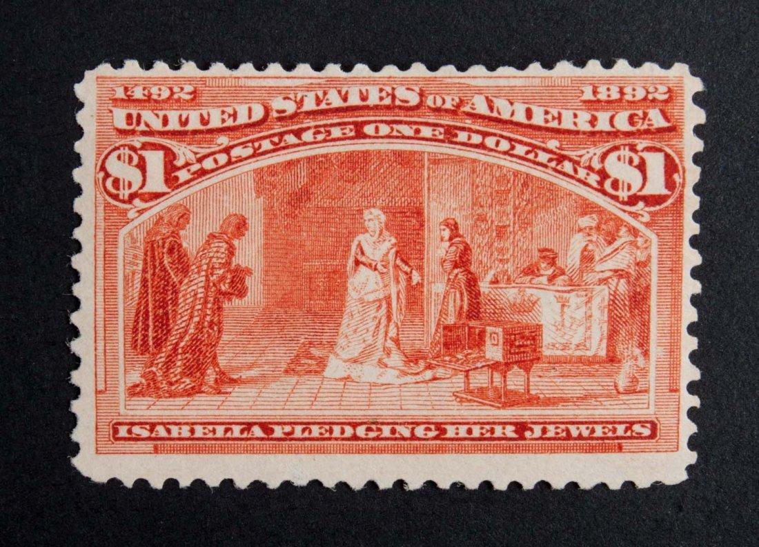 U.S. Columbian Exposition $1.00, Mint, n.h.