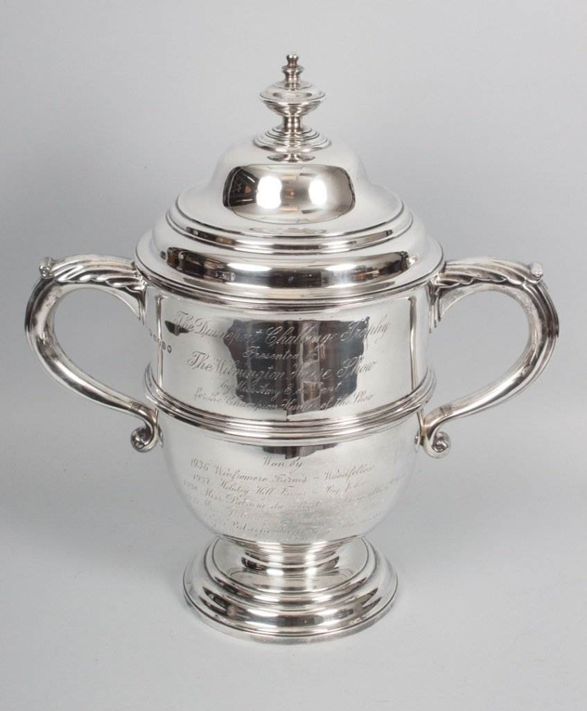 Victorian sterling silver trophy