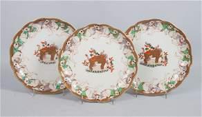 15 Japanese Imari porcelain plates