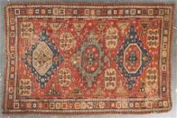 Antique Soumak rug, approx. 6.7 x 9.8