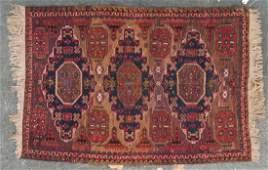 Antique Soumak rug, approx. 4.5 x 6.3