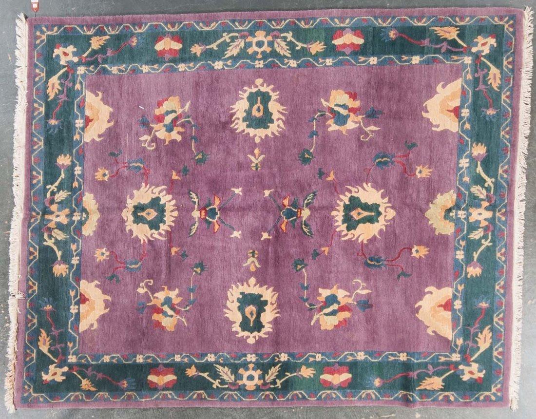 Tibetan carpet, approx. 8.6 x 10.6