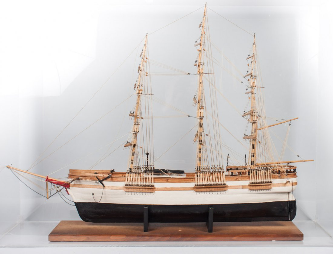 Wood ship model