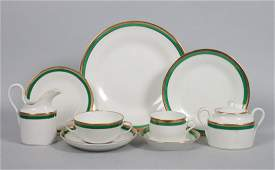 Richard Ginori porcelain partial dinner service
