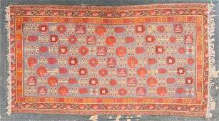 Antique Khotan rug approx 44 x 75