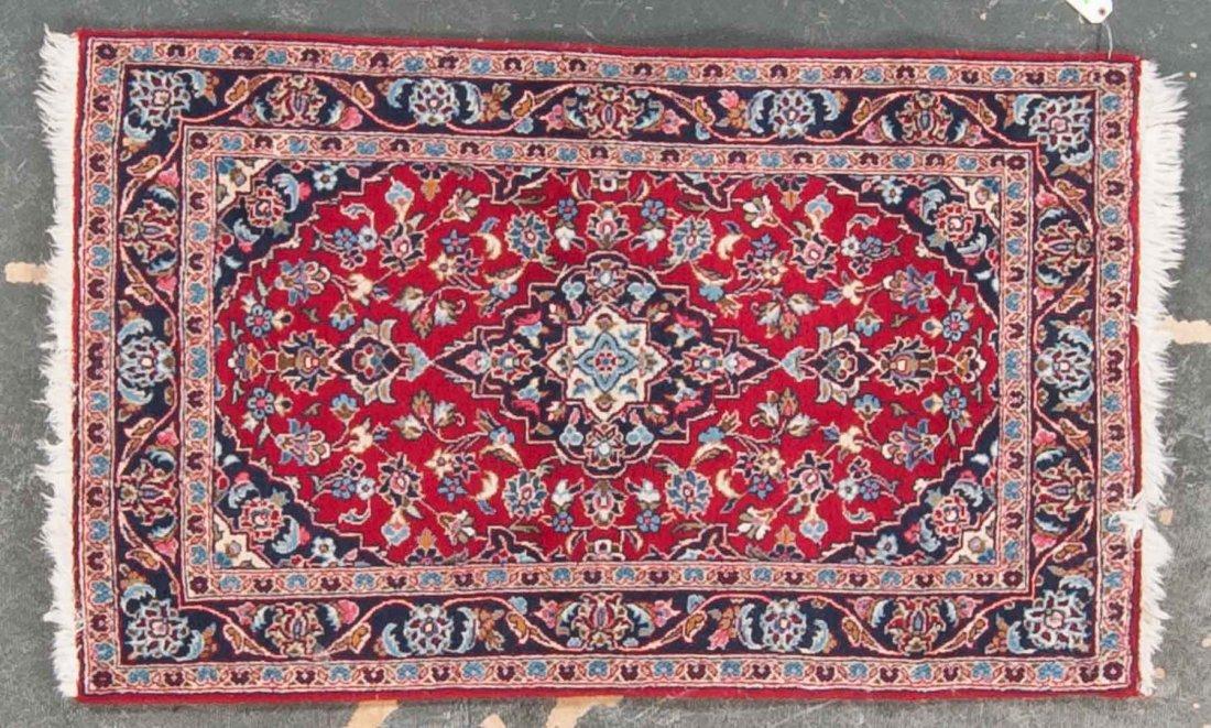 Persian Keshan scatter rug, approx. 3.1 x 5.1