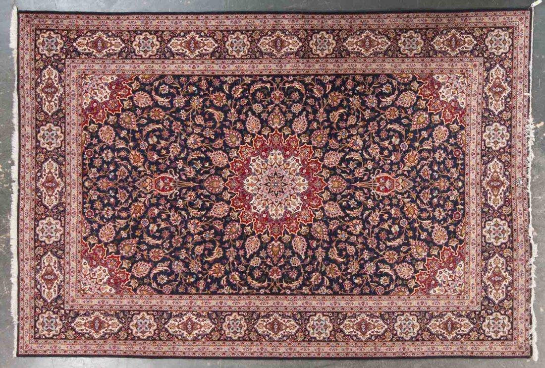 Persian Keshan carpet, approx. 8.6 x 12.5