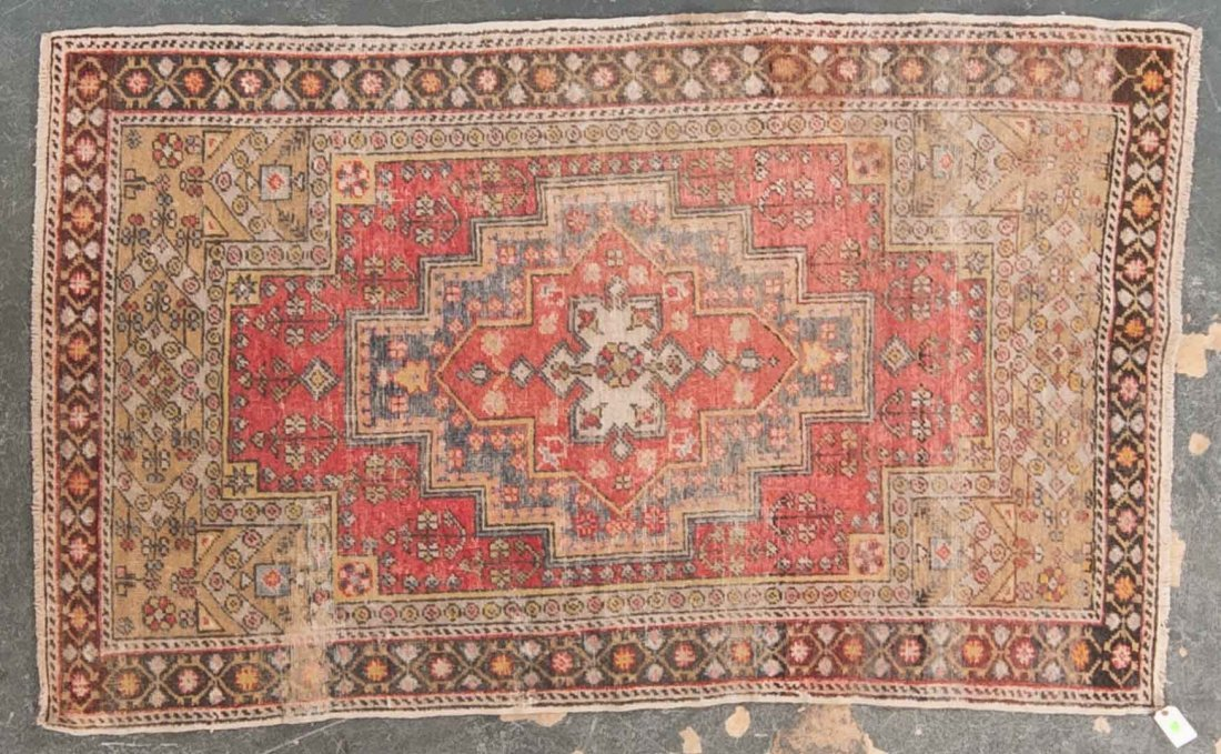 Antique Anatolian rug, approx. 4 x 6.7