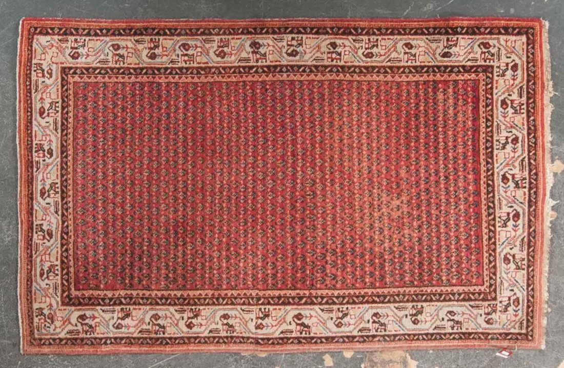 Antique Seraband rug, approx. 4.4 x 6.9