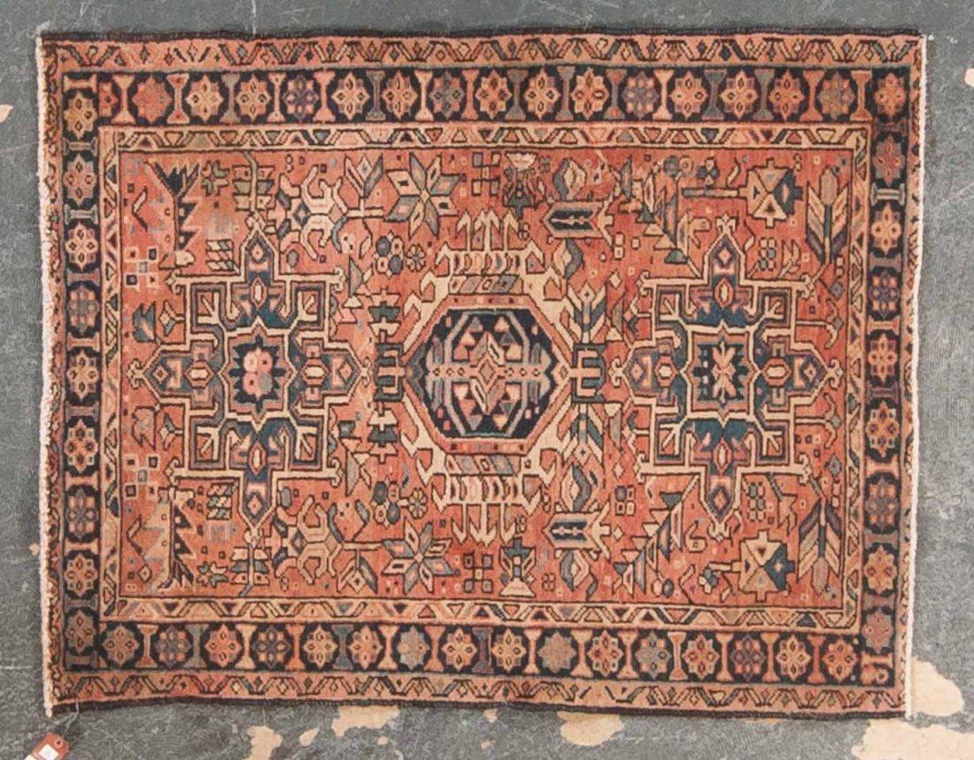 Persian Karaja rug, approx. 3.7 x 4.9
