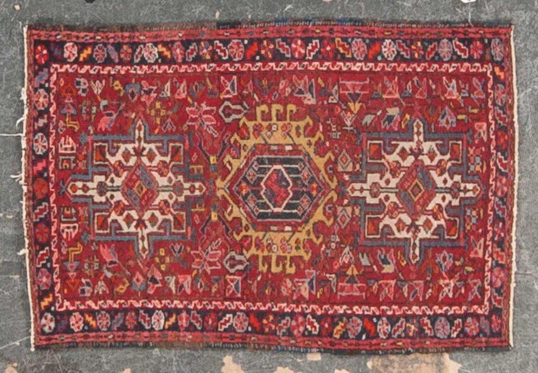Karaja scatter rug, approx. 2.7 x 3.10