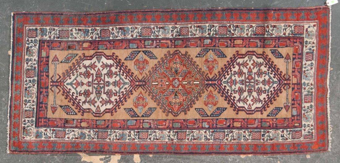 Antique Serab rug, approx. 3.5 x 7.4
