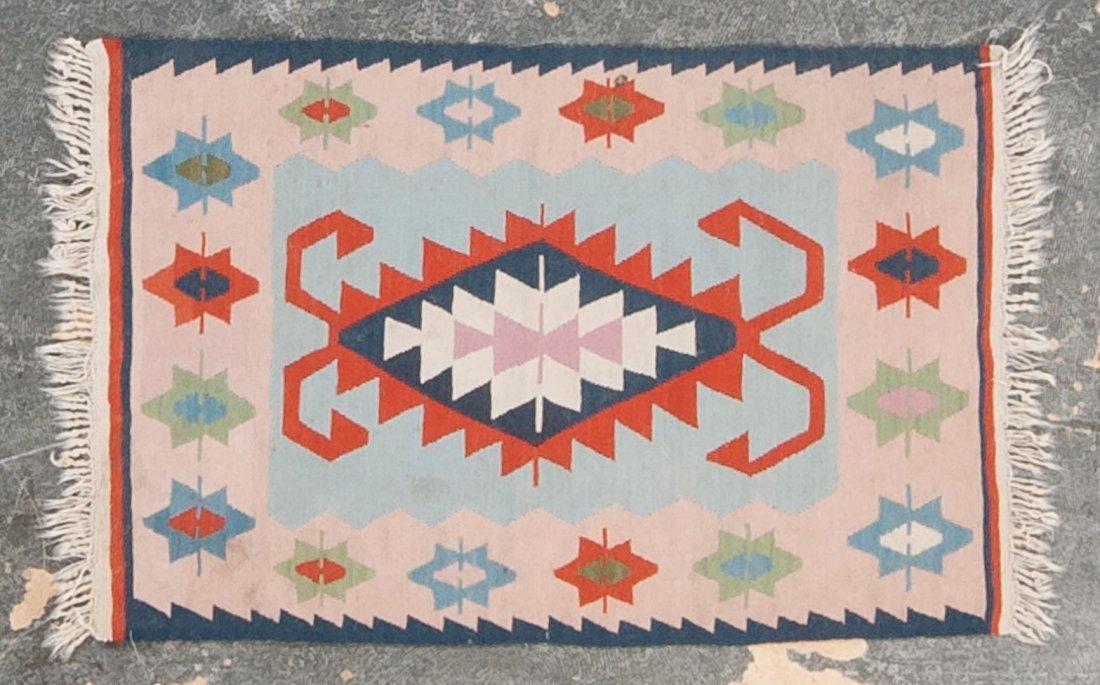 Turkish Kelim rug, approx. 2.8 x 4