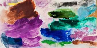 Friedel Dzubas, Untitled, Watercolor
