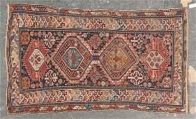 Antique Shirvan rug approx 38 x 66