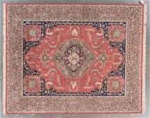 Indo-Serapi rug, approx. 8.1 x 10