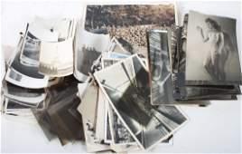 Assortment of World War II era photographs, etc.