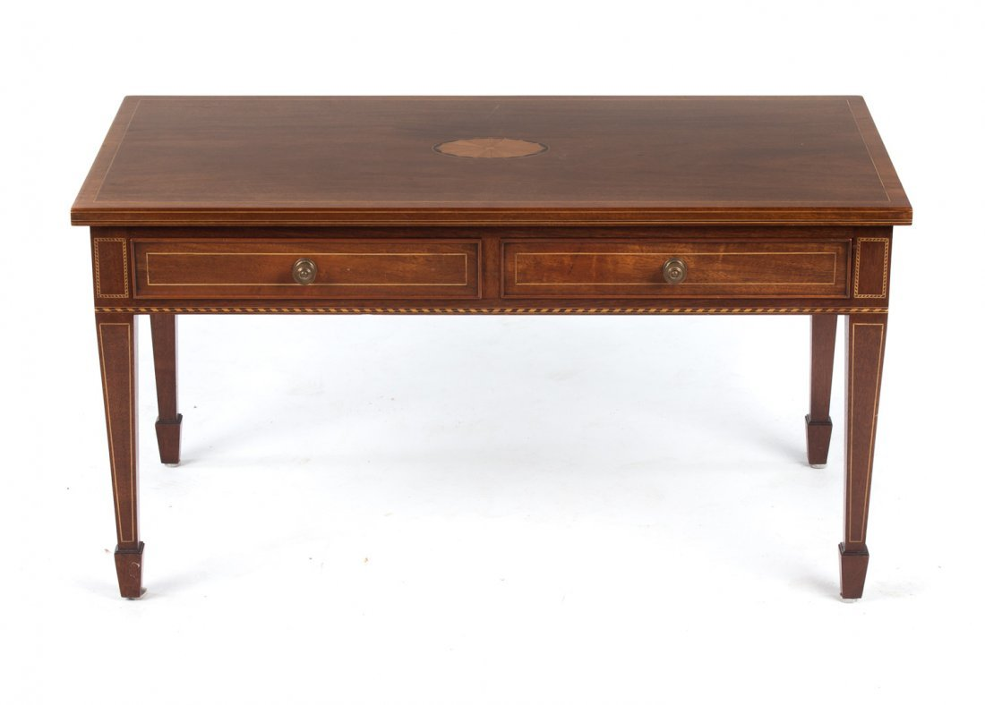 Bros Federal style mahogany coffee table