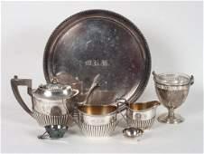 Gorham 3piece sterling silver tea set