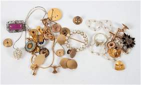 Group of jewelry and findings