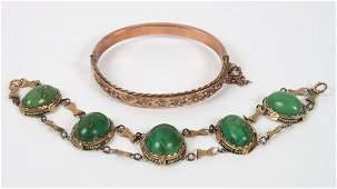 Two Victorian ladys bracelets