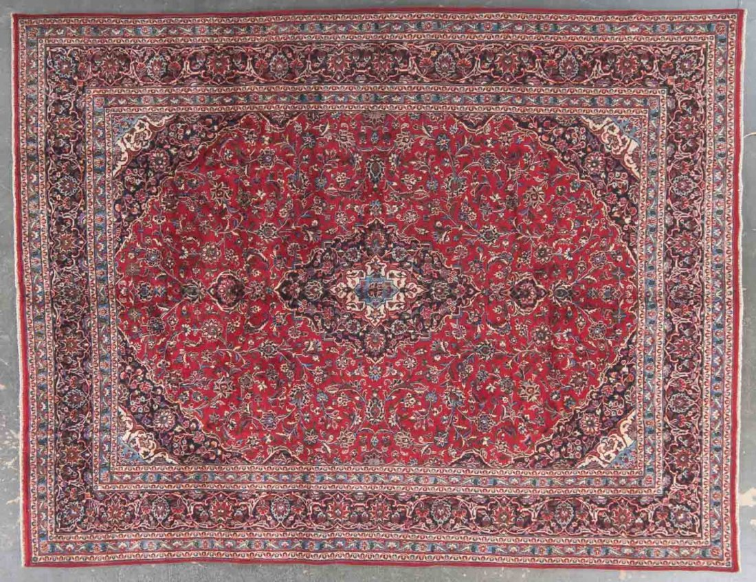 Persian Meshed carpet, approx. 9.8 x 12.6