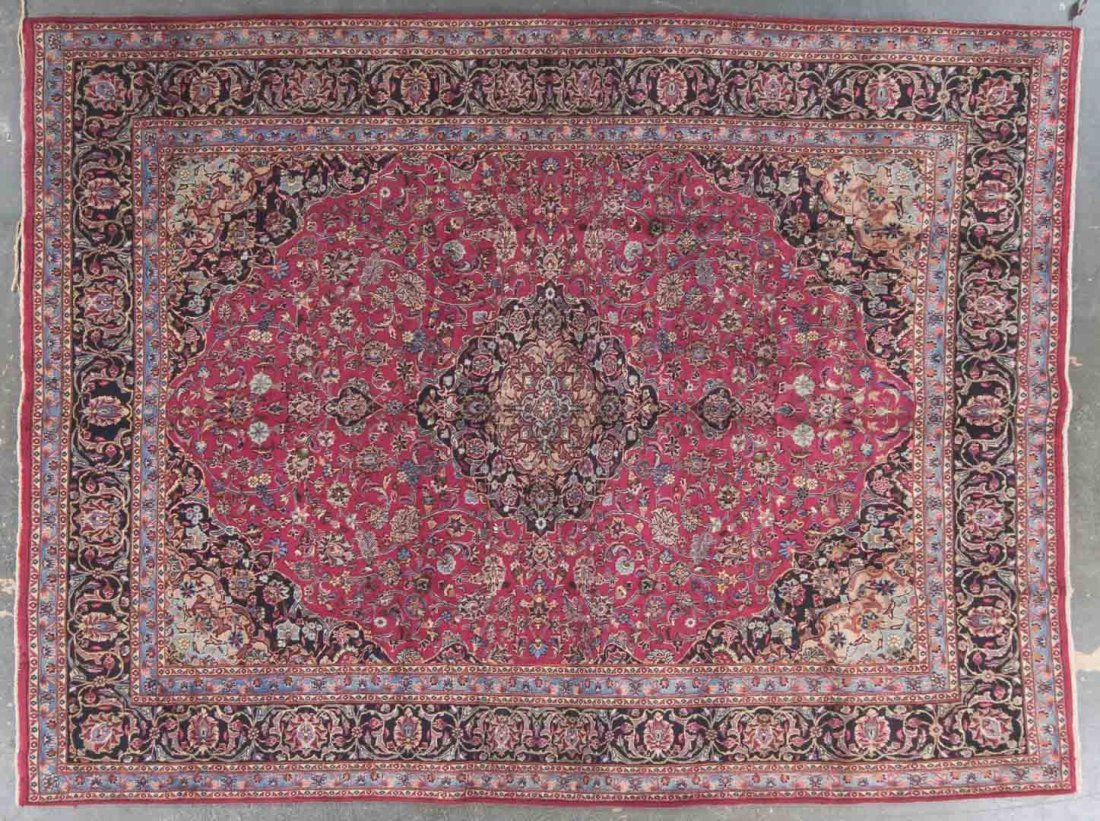 Persian Meshed carpet, approx. 9.7 x 12.9