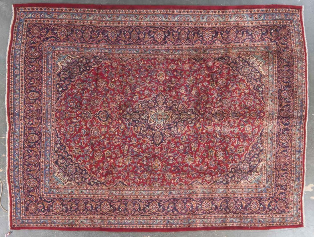 Persian Meshed carpet, approx. 9.8 x 12.9