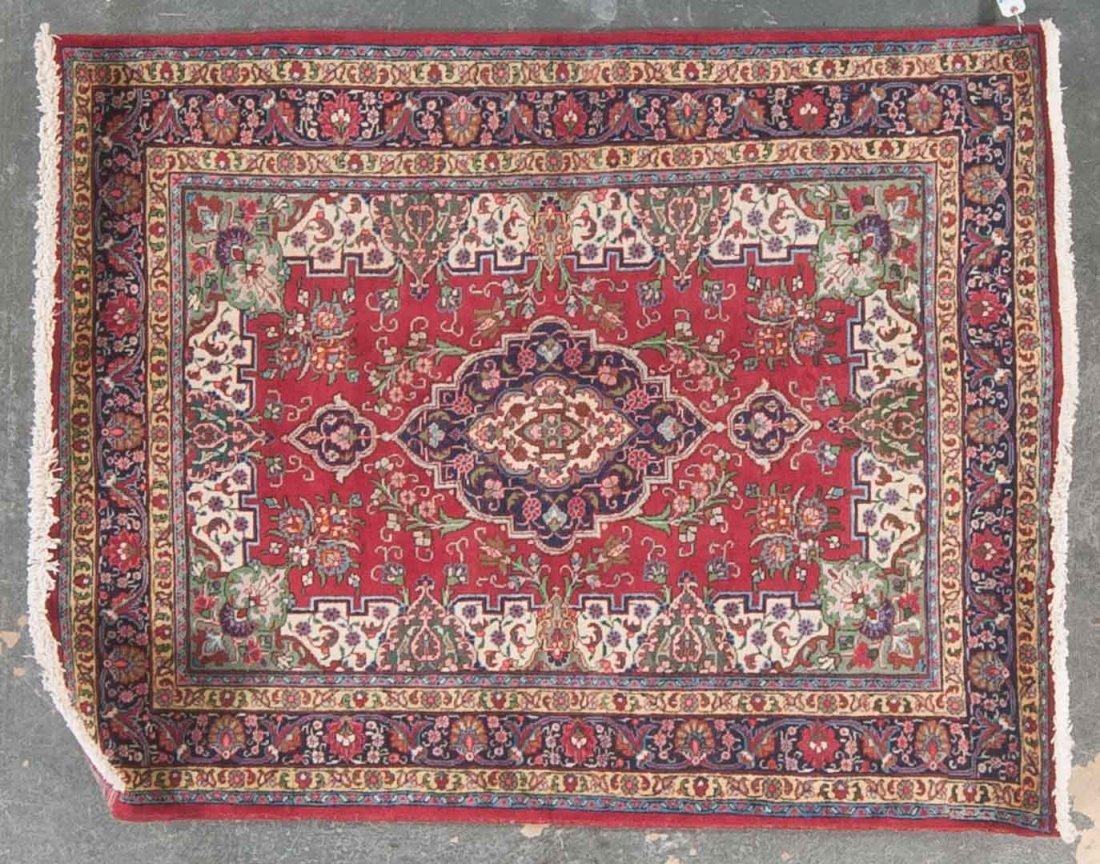Persian Tabriz rug, approx. 4.8 x 6