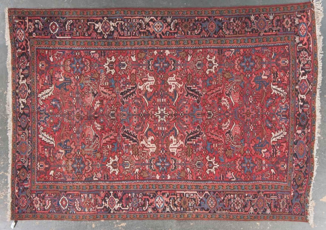 Persian Herez rug, approx. 8.3 x 11.9