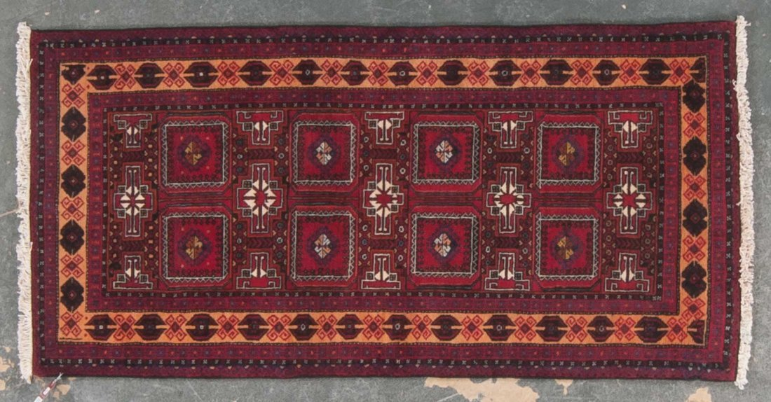 Persian Belouch rug, approx. 3.4 x 6.8