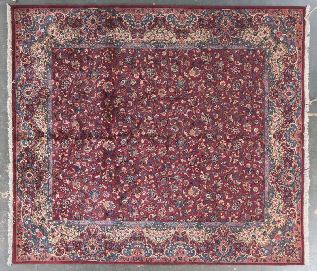 Persian Meshed carpet, approx. 9.10 x 10.9